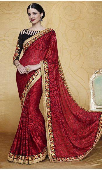 Saree Asmiya - Rouge 75€