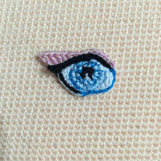 Amigurumi Eyes Embroidery : My crocheted Amigurumi eye by Sculpturingface, no ...