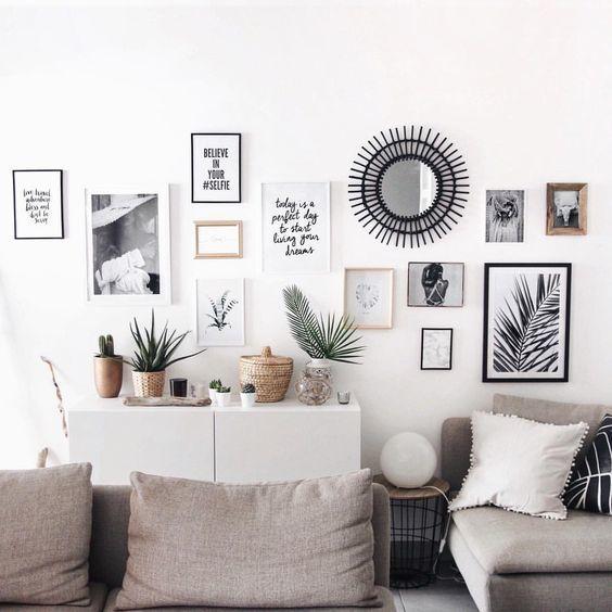 Comment Decorer Vos Murs Facilement Deco Mur Salon Deco Murale