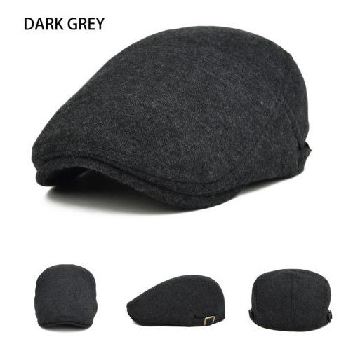 Black /& Gray Checked Ladies Newsboy Cabbie Lined Hat Cap New with Tags!