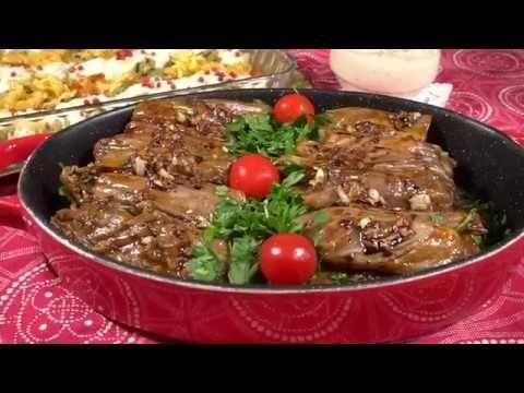 ملفوف بالبرغل Youtube Food Meat Beef