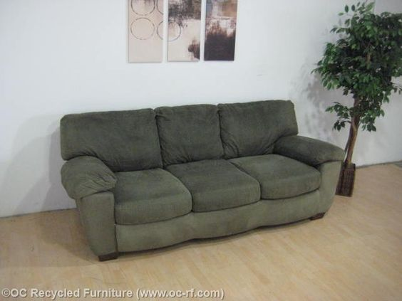 Green Microfiber Sofa By Ashley Furniture Thumbnail | Africa Inspired |  Pinterest | Microfiber Sofa And Decorating