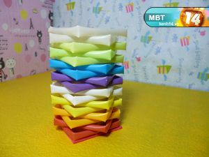 How to DIY Pencil Holder from Drinking Straws and Toilet Paper Roll