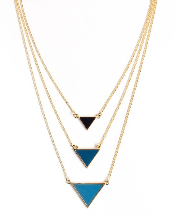 Power Point Necklace - love the name!