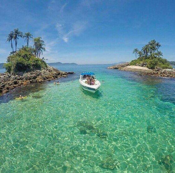 Ilhas Botinas, em Angra dos Reis, no Rio de Janeiro! ⛵🏊⚓
