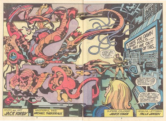 Captain Victory #8 by Jack Kirby