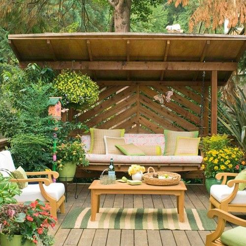 lovely outdoor seating area just put a fire pit in the middle outside pinterest decks. Black Bedroom Furniture Sets. Home Design Ideas