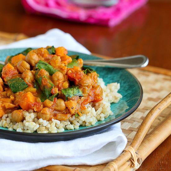 Curry Recipe with Sweet Potato & Chickpeas | Recipe | Chickpeas ...