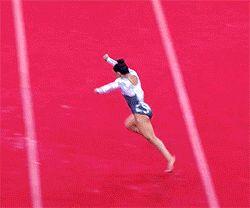Gymnastics Gifs - Claudia Fragapane - Commonwealth Games 2014