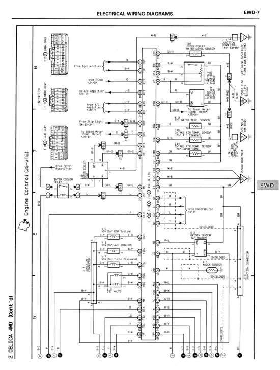 12 Toyota 4y Engine Wiring Diagram Engine Diagram Wiringg Net Diagram Toyota Engineering