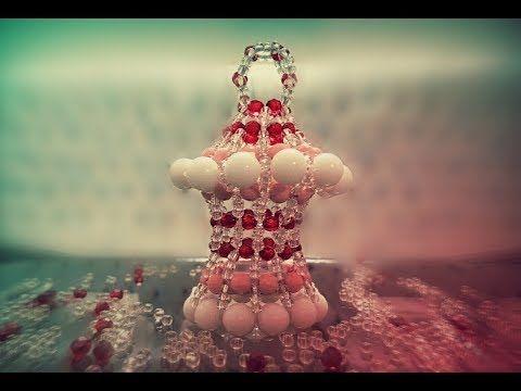 تعليم اكسسوارات بنات هاند ميد طريقة عمل فانوس رمضان 2017 بالخرز موديل كبير جديد فريدة Youtube Ramadan Decorations Ornament Wreath Holiday Decor