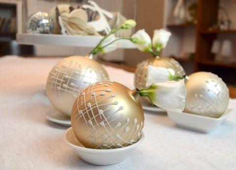 DIY christbaumkugel-vasen & buchrezension