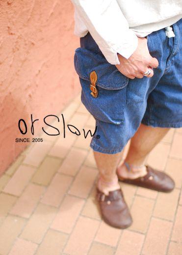 【楽天市場】orSlow(オアスロウ)> BACK PACK SHORTS:Crouka LR(クローカ エルアール)