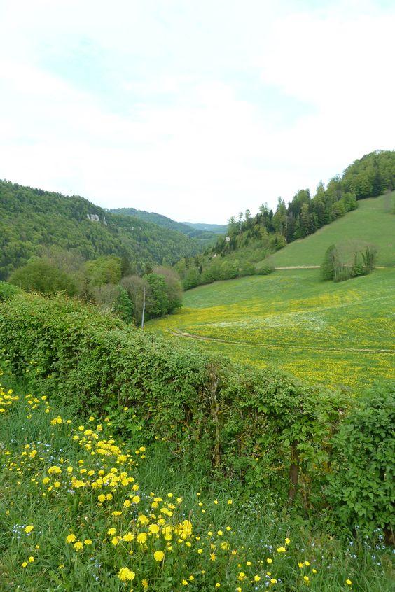 Doubs, Franche-Comte Region, France.