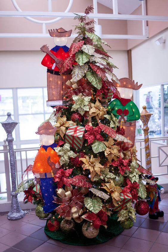Nuestros rboles est n decorados con la intenci n de ser - Arboles de navidad decorados ...