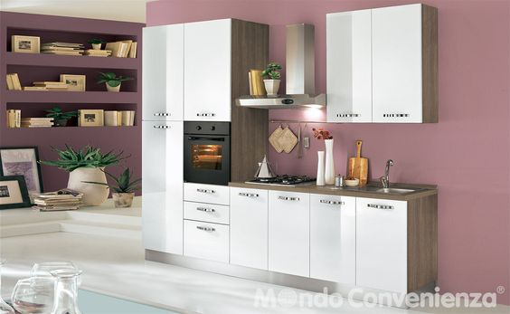 Cucina Seventy - Mondo Convenienza | Kitchen | Pinterest | Cucina