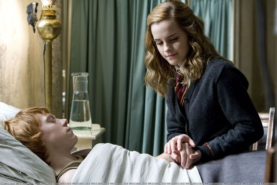 """And then there was that moment when we're supposed to go """"aaaah! Ron's dying!"""" But all we do is go """"awww"""""""