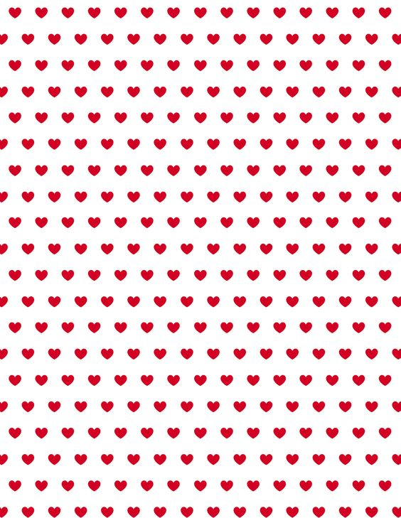 free valentine hearts scrapbook paper red heart patterns