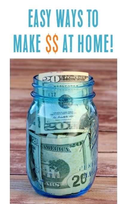 Making Money at Home Ideas!  7 easy ways to earn money online! | TheFrugalGirls.com