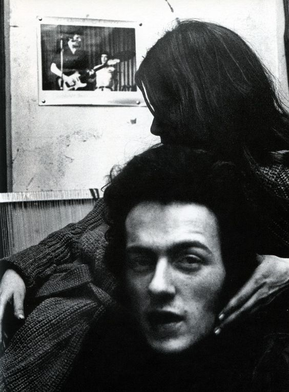 Joe Strummer and Paloma Romero.