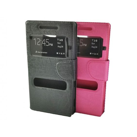 Funda Tipo Libro Con Ventana Para Sony Xperia E1 - http://complementoideal.com/producto/funda-tipo-libro-con-doble-ventana-para-sony-xperia-e1/  - Con la Funda Tipo Libro Con Doble Ventana Para Sony Xperia E1 tendrás una protección total del tu teléfono móvil, ya que protege tanto delante como la parte de atrás de esta forma tendrás protección 100% del dispositivo. Diseñada exclusivamente para Sony Xperia E1, encajando perfectamente además ...