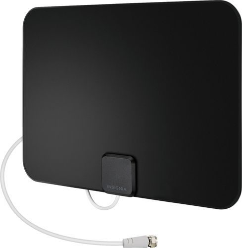 TERK Ultra-Thin Indoor Amplified HDTV Antenna Multi-Directional