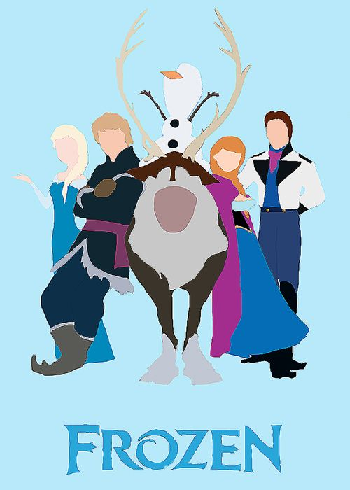 Frozen Minimalist Poster