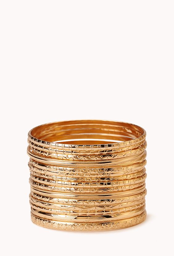 Heirloom Bangle Set | Forever 21 - 1000089790