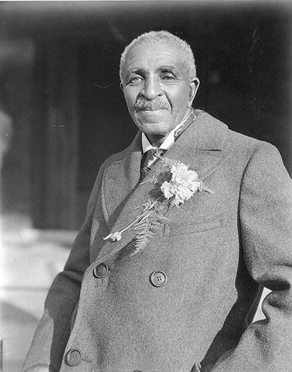 George Washington Carver changed lunchtime sandwiches forever when he invented peanut butter. Born a slave, Carver didn't attend college until he was 30 years old, but he went on to create 400 new uses for peanuts, soybeans, sweet potatoes, and pecans