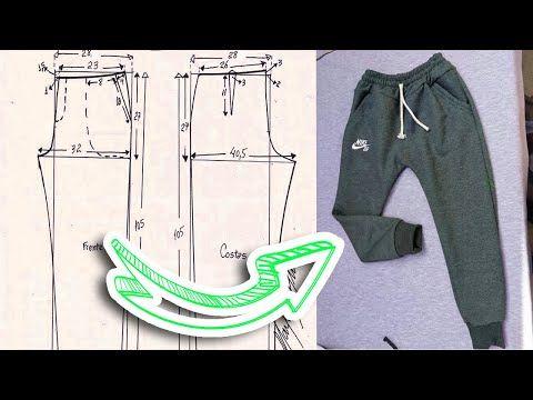 Molde Jogger Pantalon Nino Paso A Paso Facil Tips De Confeccion Youtube Pantalones De Hombre Moda Pantalones Para Ninos Ropa Deportiva Para Hombre