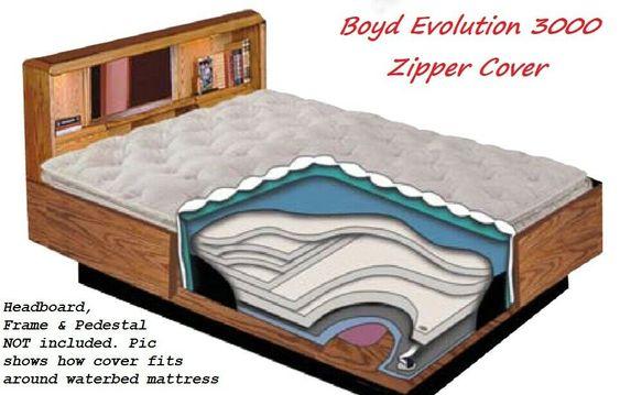 50 Off Super Single Boyd 3000 Sensa Waterbed Mattress Zipper Cover