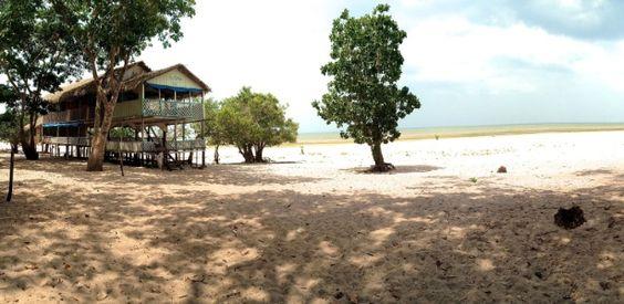 Famosa por praia de
