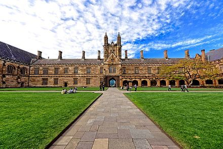 """Australia - """"The University of Sydney is the oldest university in Australia, having been founded in 1850."""" -  Wikipedia, the free encyclopedia"""