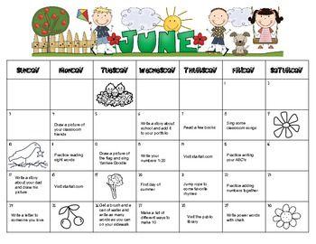 Summer homework calendars for Kindergarten   Kids Stuff     WHAP Assignments Calendar October      MondayTuesdayWednesdayThursdayFriday