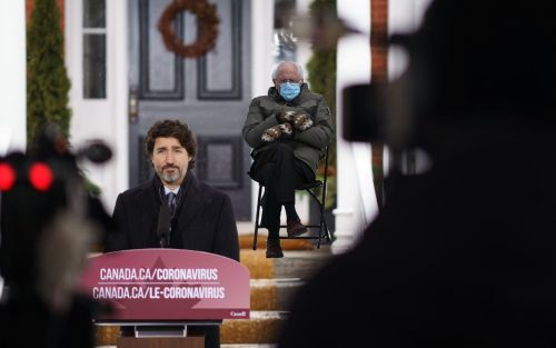 Hasta Justin Trudeau Uso El Meme De Bernie Sanders In 2021