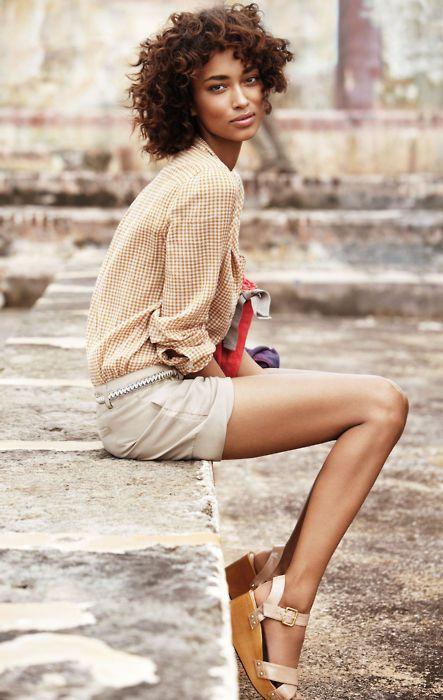 ...: Short, Long Legs, Anais Wrong, Summer Style, Natural Hair, Hair Style, Curly Hair, Natural Beauty