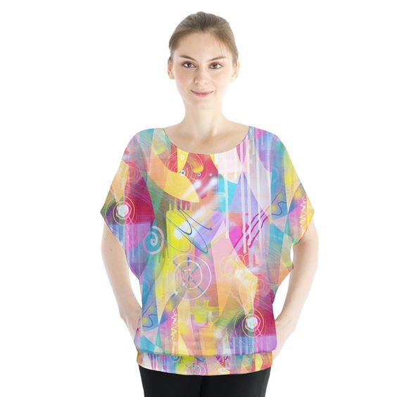 Painted Chaos Blouse