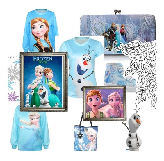 """""""#frozen"""" by marthaloveone ❤ liked on Polyvore featuring Disney and Loungefly"""