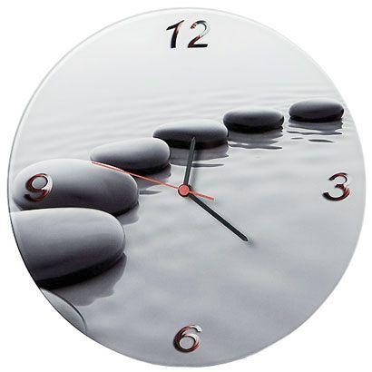 Reloj con impresión en metacrilato