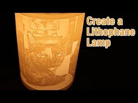 3d Printed Lithophane Lamps Youtube 3d Printing Metal Lamp Base Prints