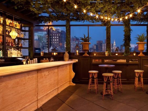 New york rooftops and terrace on pinterest for Terrace on the park restaurant