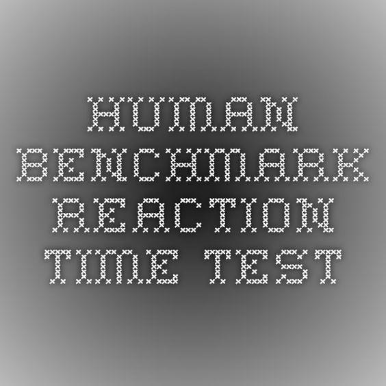 Human Benchmark - Reaction Time Test