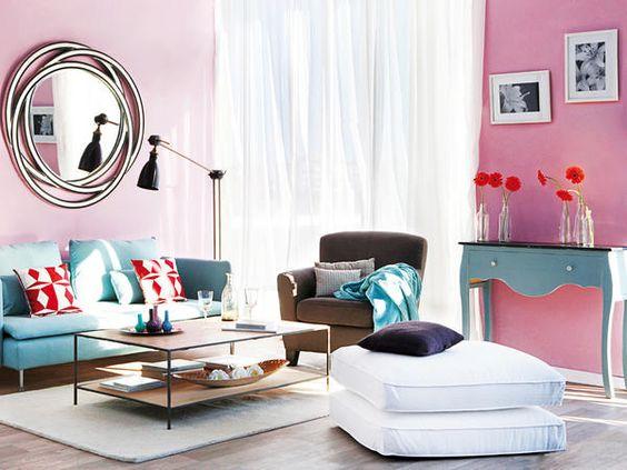 Muebles para decorar el salón   decoración de salones   casadiez ...