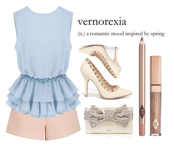 """""""Sin título #1767"""" by karenvillagra on Polyvore featuring moda, Finders Keepers, Wild Diva y Kate Spade"""