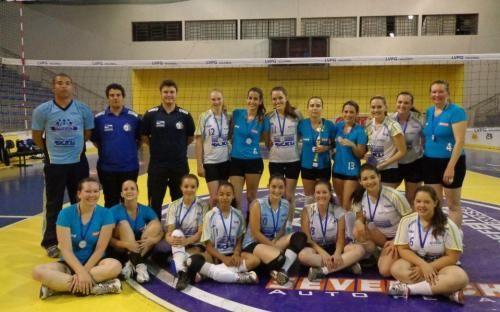 LVPG/Fundesp/Odontologic Center estreia com vitória na Copa Cidade de Ponta Grossa de Voleibol