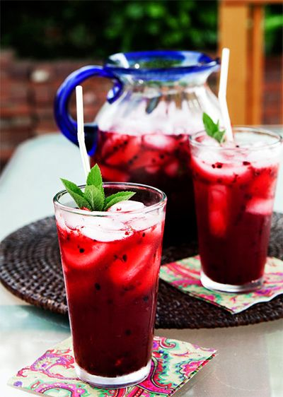 Blackberry mint lemonade (and 14 others)