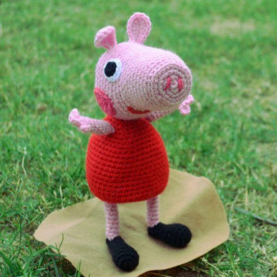Peppa Pig Amigurumi Crochet : Pinterest The world s catalog of ideas