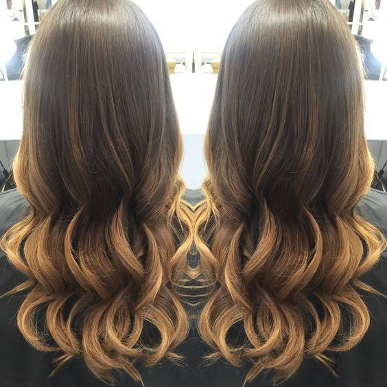 Balayage, natural hair, olaplexs