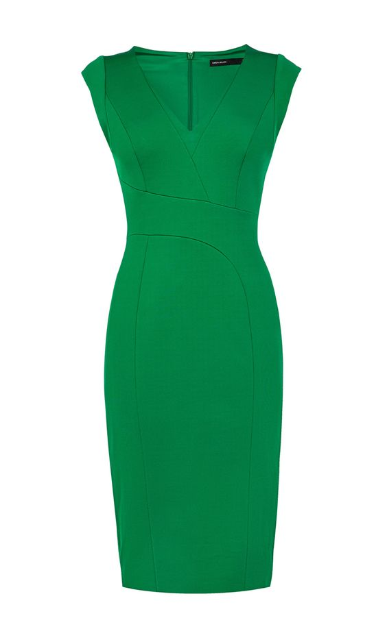 Structured Pencil Dress | Luxury Women's new-in_garments | Karen Millen
