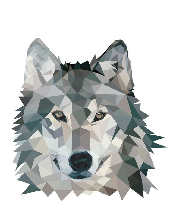 Daily Inspiration - Wolf Illustration Check us out at www.owlrepublic.com: